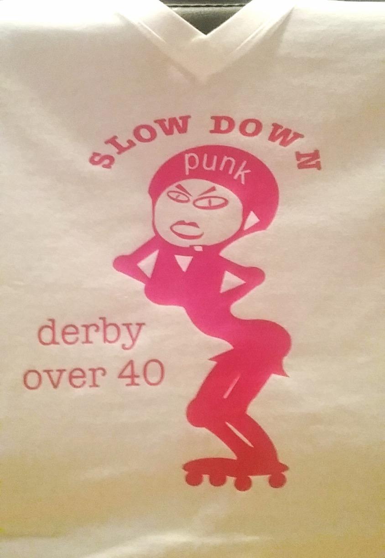 Slow down punk!