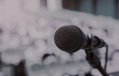 Microphone   Speak to the world   Hugh Mann Development