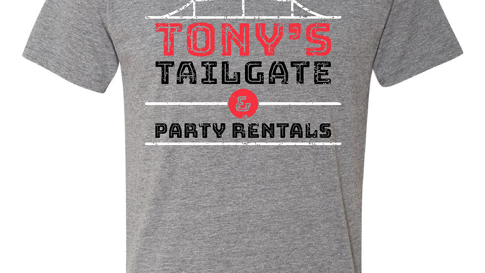Tony's Tailgate & Party Rentals T-shirt