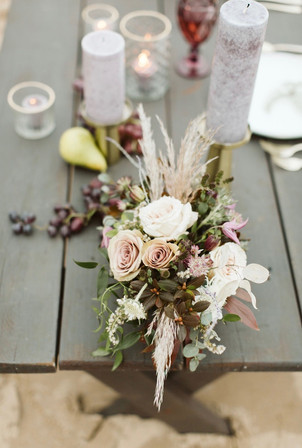 Autumn table centerpiece