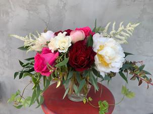 Summer engagement bouquet