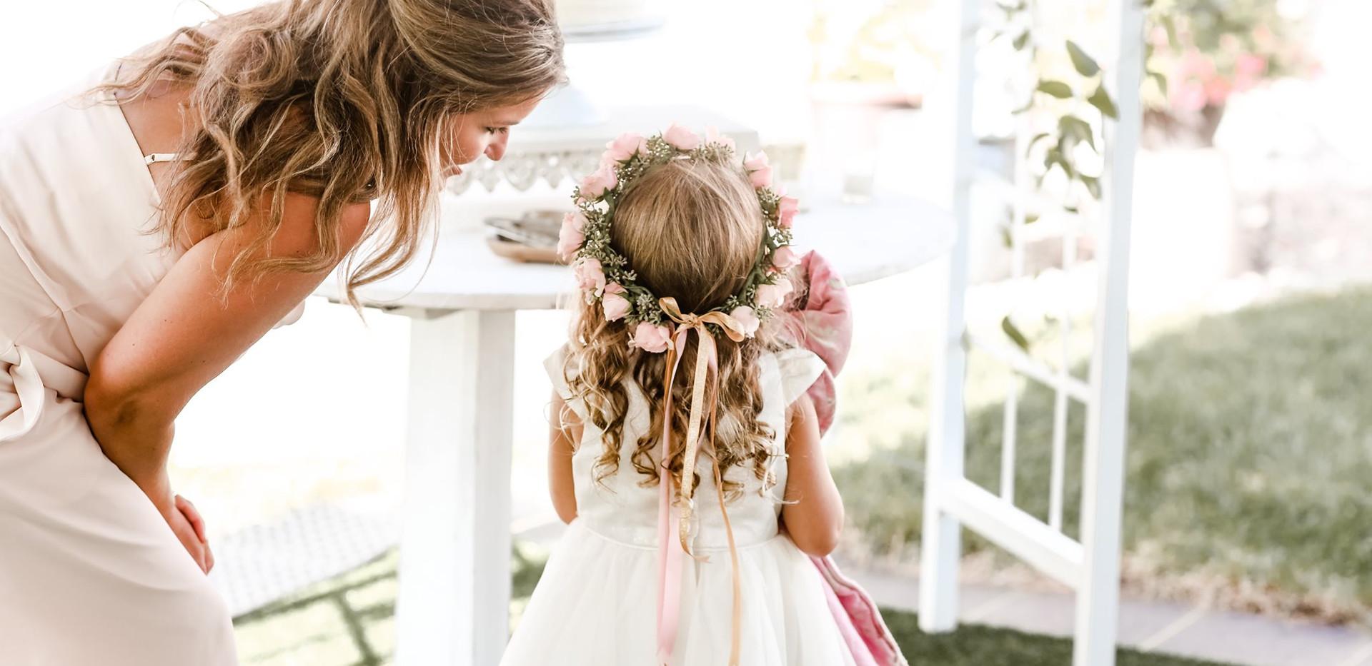 Flower Girl + Maid of Honor