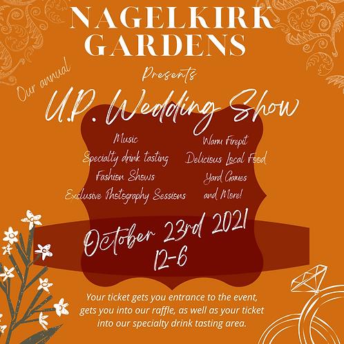 U.P. Wedding Show Ticket