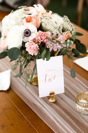 Elegant floral centerpiece