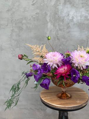 Summer jewel-toned bouquet