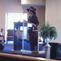 First Lady in the Pulpit