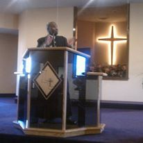 Pastor in the Pulpit