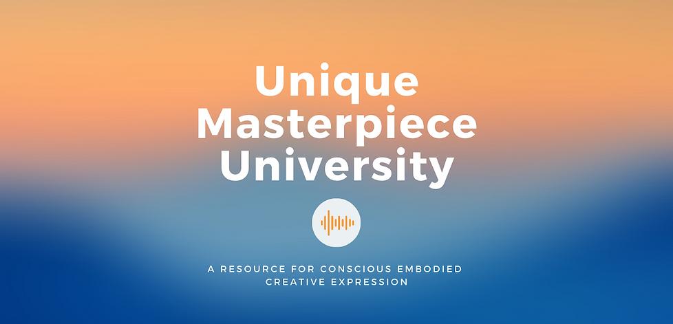 Copy of Unique Masterpiece University (1