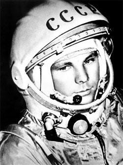 Yuri Gargarin - first cosmonaut, Order of Lenin, Hero of the Soviet Union