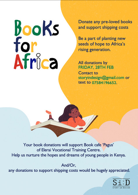 Our Charity Project <Books for Africa>