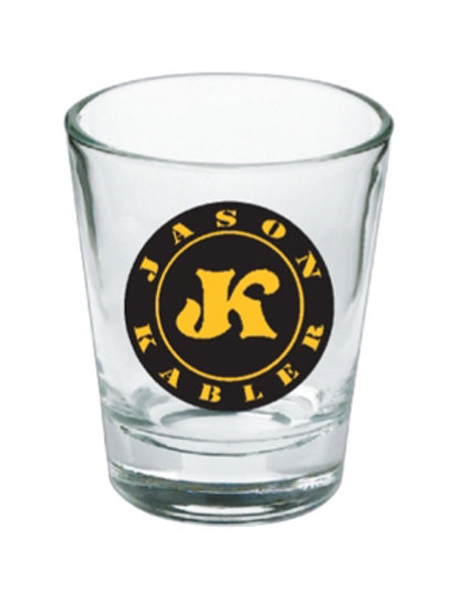 """Jason Kabler "" Shot Glass"