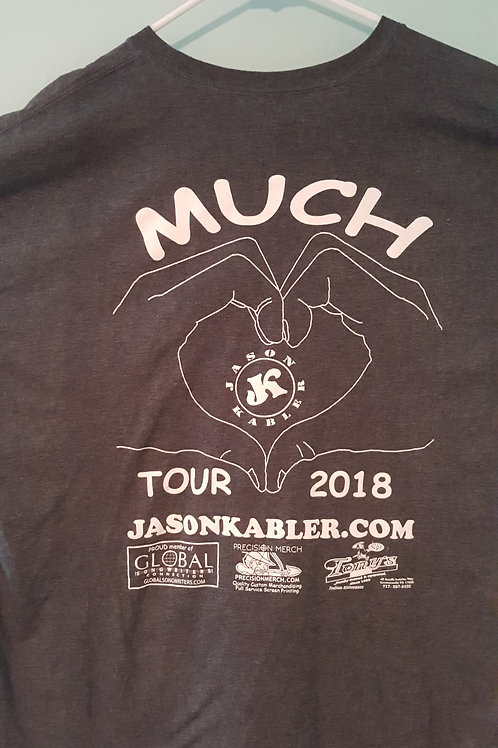 "Jason Kabler 2018 ""Much Love"" Tour Shirt"