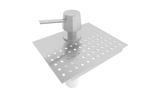 Dispenser para detergente e apoio esponja 15cm