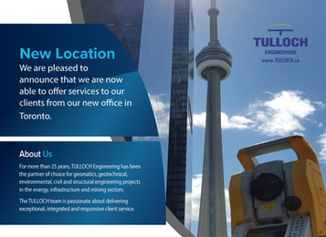 New Toronto Location