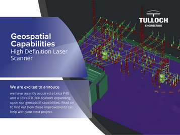 Geospatial Capabilities: High Definition Laser Scanning
