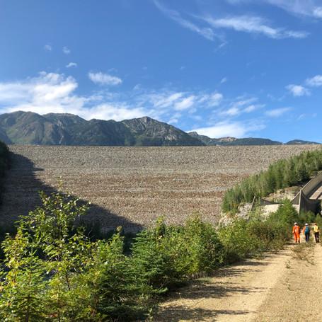 Mica Dam, Kinbasket Lake, BC
