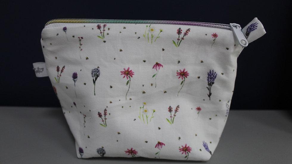 Wildflower  Makeup Bag