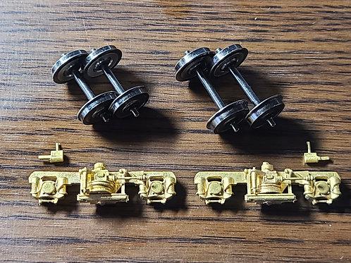 DT31台車枠(左13mm、右16.5mm)気動車用