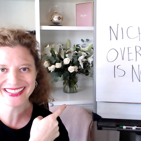 How to Eat an Elephant or Why Niche Overwhelm is Normal