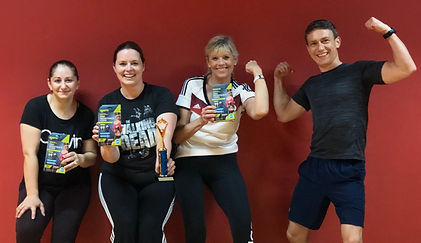 Game Fitness bootcamp champions