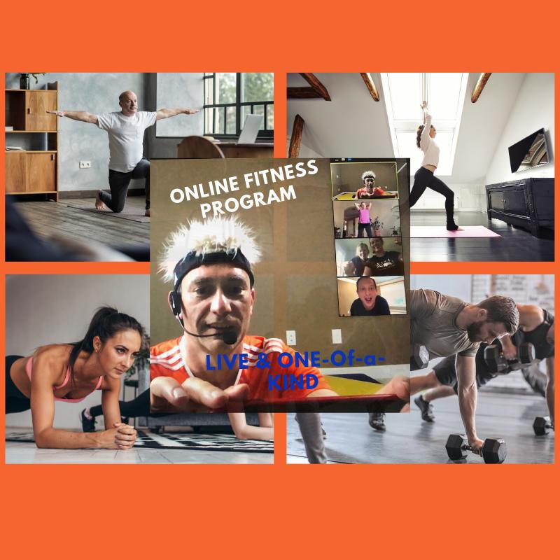 Online LIVE fitness program