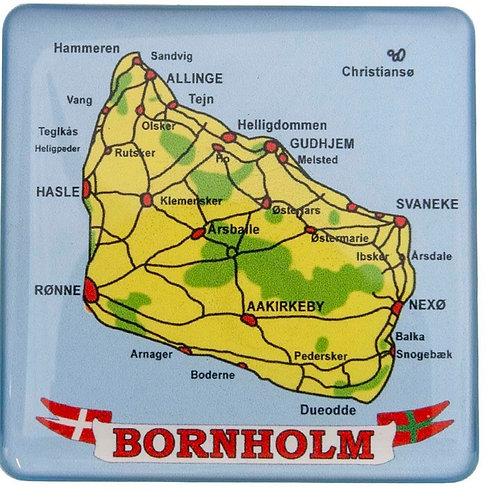 Magnet, Bornholm, byer