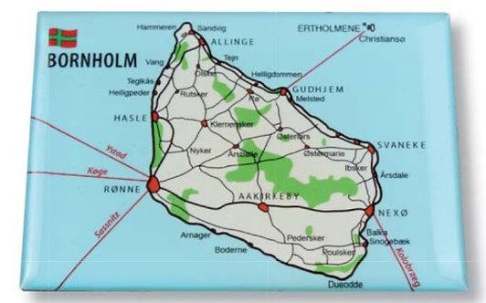 Magnet, Bornholm, ruter