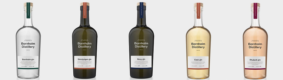 Bornholm Gin, Bornholm Distillery, 50 cl