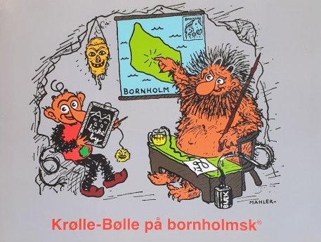 Krølle Bølle bog - på bornholmsk
