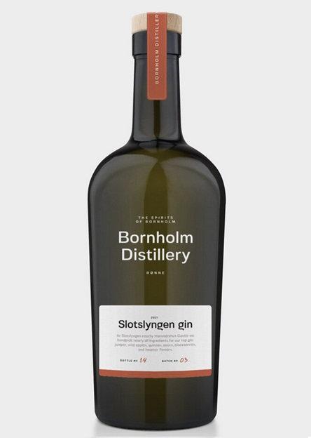 Bornholm Distillery, Slotslyngen Gin, 50 cl