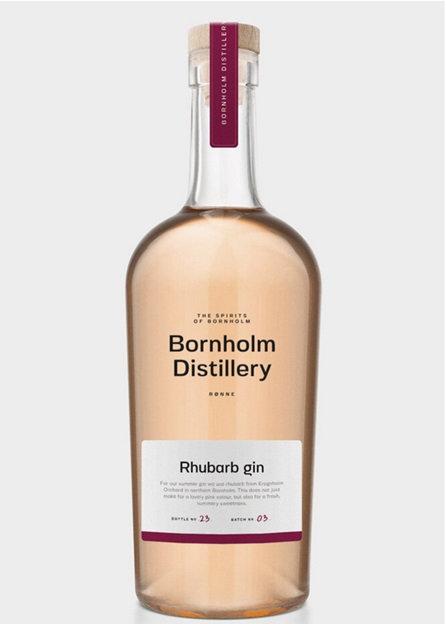 Bornholm Distillery, Rhubarb Gin, 50 cl