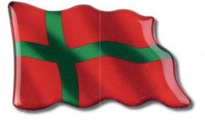 Magnet, Bornholm, bølgende flag