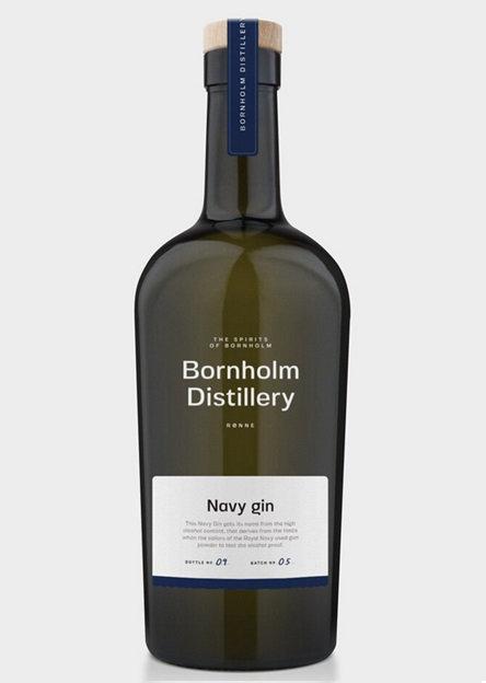 Bornholm Distillery, Navy Gin, 50 cl