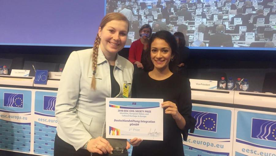 2. Platz beim Zivilgesellschaftspreis 2018