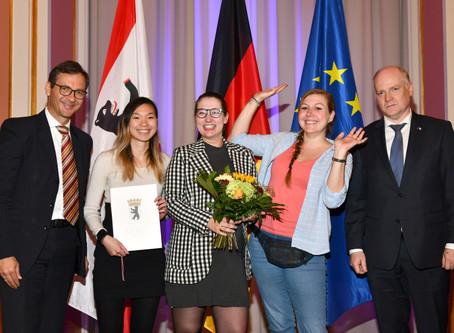 """SWANS nominiert für den """"Blauen Bär"""" Preis für Europa-Engagement"""