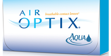 Air Optix Aqua Negativas