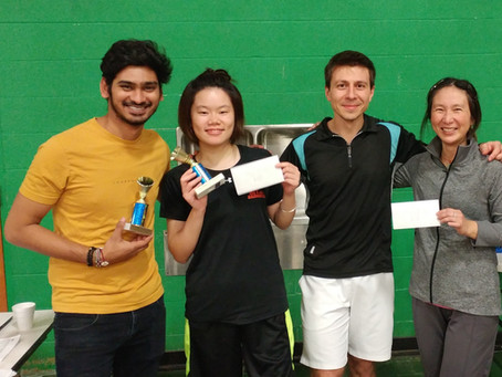 Rally Niagara Fall Classic Badminton Doubles Tournament Recap - Nov 10th