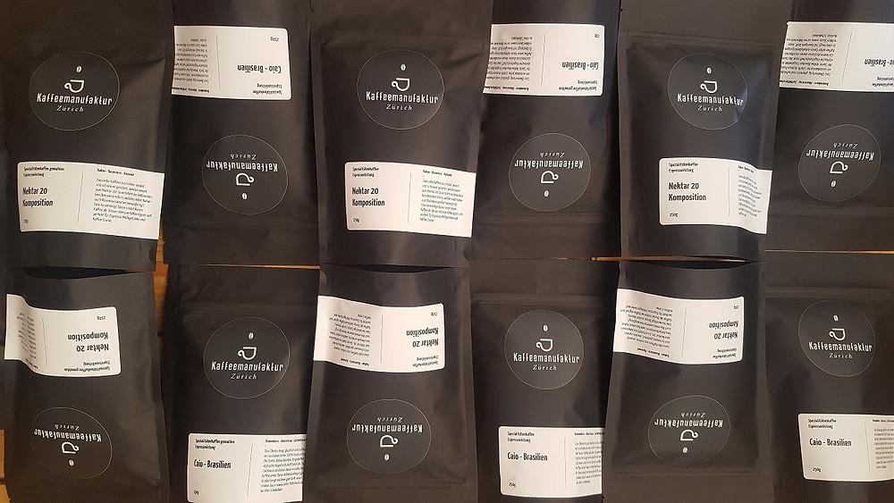 Schonend gerösteter Espresso der Kaffeemanufaktur Zürich