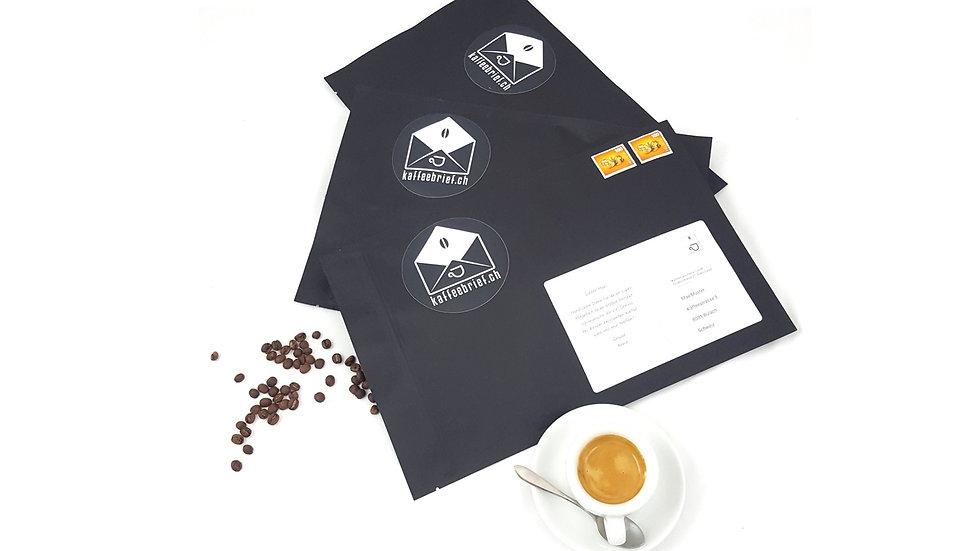 Kaffeebrief Mehrfachversand