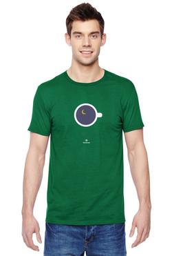 Муж зеленая чашка с космосом