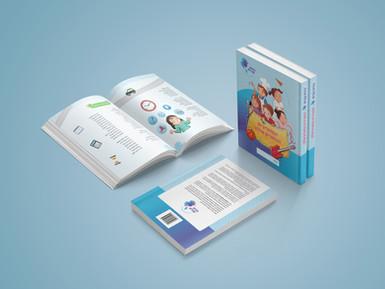 עיצוב חוברת הלימודים מזויות שונות