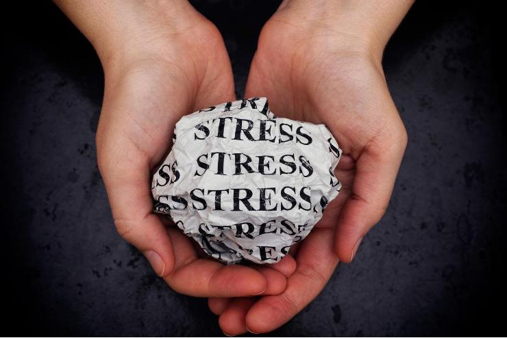 kartka stres