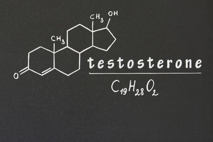 wzór testosteronu