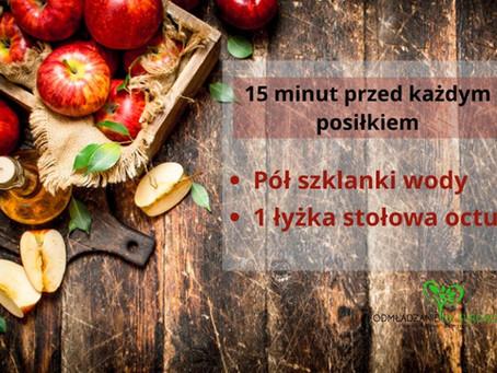 Czy ocet jabłkowy wypali Twój żołądek?