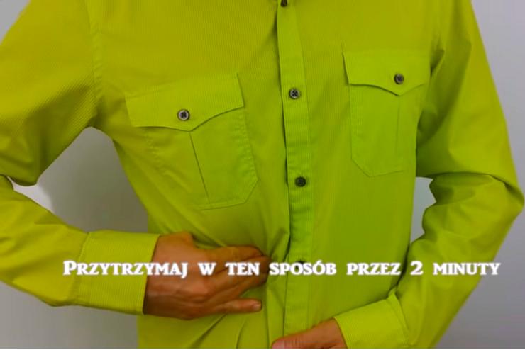 limonkowa koszula