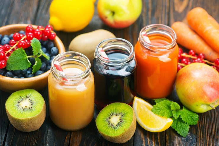 sok i owoce