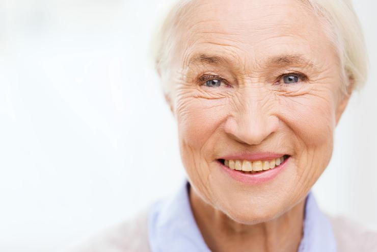 uśmiech babci