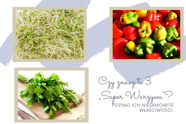 3 warzywa