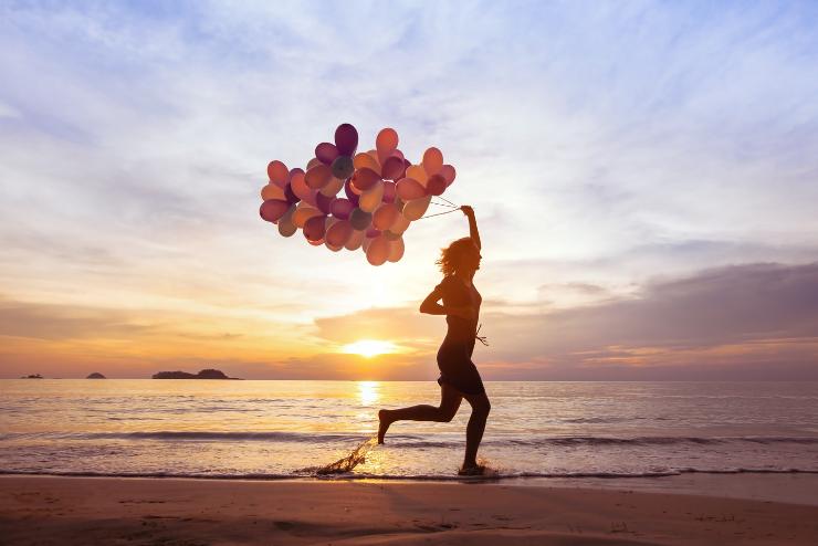 balony na powietrzu