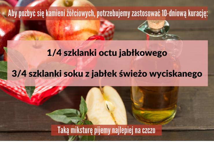 ocet z sokiem jabłkowym